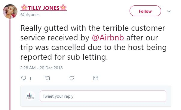 If you book an illegal Airbnb your reservation might get cancelled if the host gets busted for subletting.