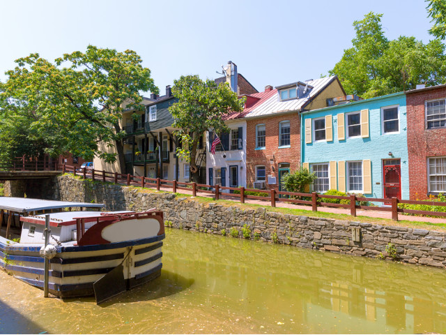 Picking an Airbnb in a historic area like Georgetown can make it feel like you're living like a local.