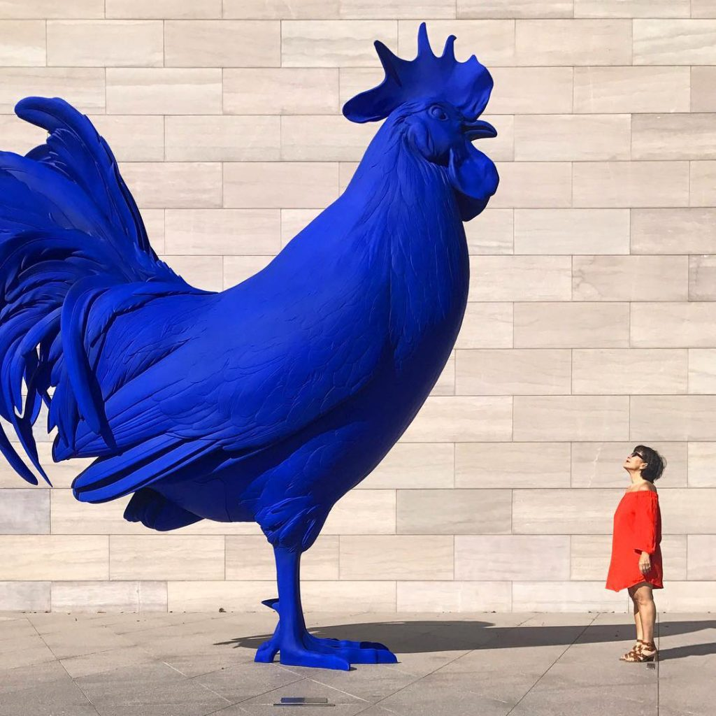 Check out the Blue Rooster at the National Gallery of art when you visit Washington, DC.