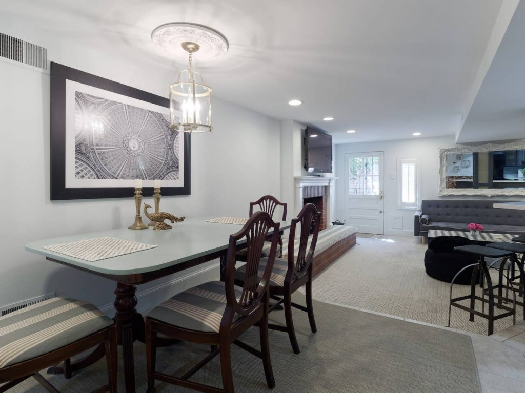 This is a Washington, DC Airbnb rental in the Capitol Hill neighborhood. Stay here if you want to be close to the Capitol and DC Metro to get around the city.